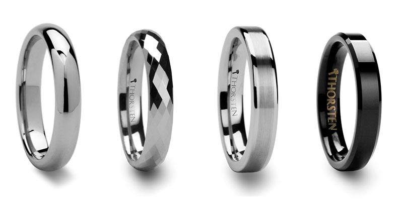 tungsten wedding rings