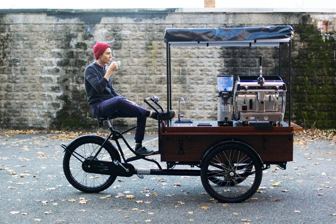 Coffee Tricycle