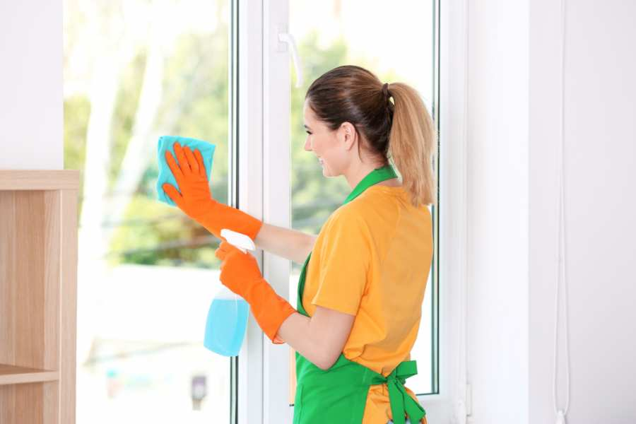 home glass stain removal