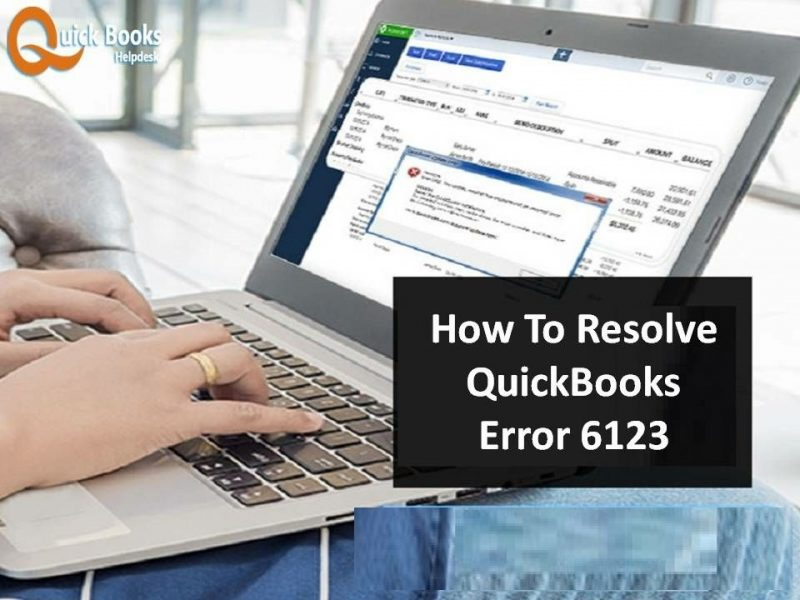Quickbooks pro company file error 6123