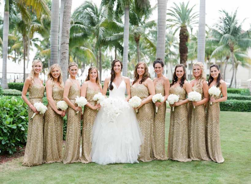 3 Amazing Makeup Ideas for Gold Bridesmaid Dresses Worth Following