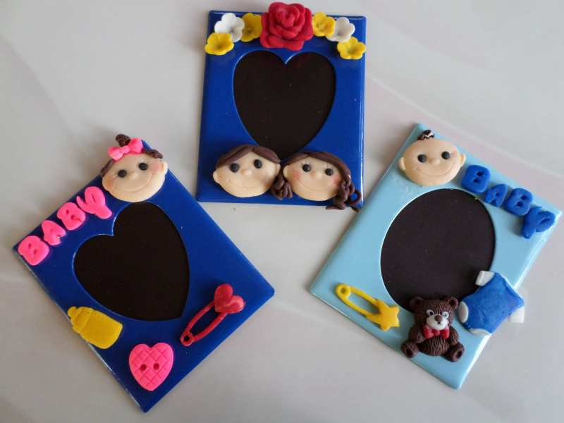 Clay Handicraft: Do It Yourself Wedding and Christening Accessories