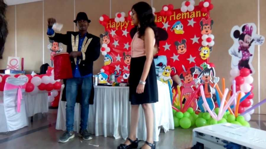 Magic In Birthday Party
