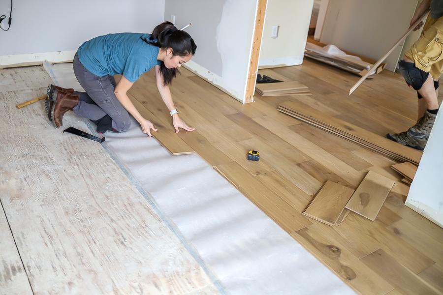 Sub Floor, Wood, and Hard Floor Drying