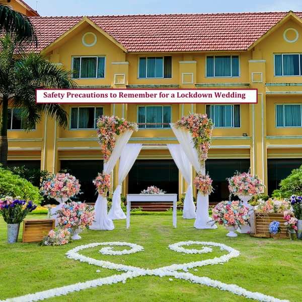 Safety Precautions Wedding