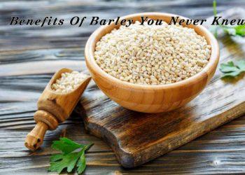 Health Benefits of Barley