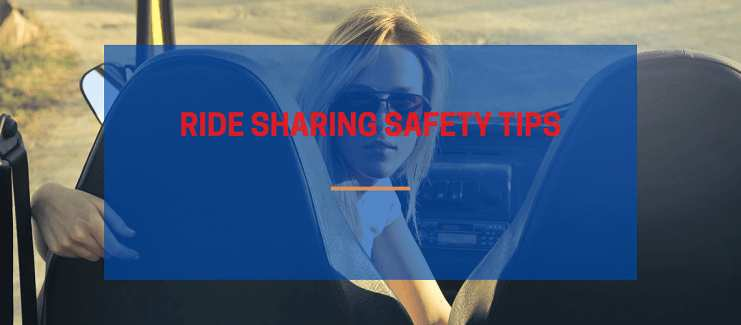 Ride sharing Safety Tips