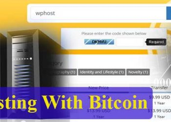 hosting with bitcoin