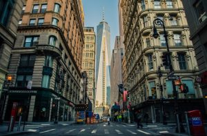 Manhattan during the day.