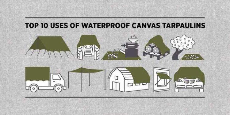 Top 10 Uses of Waterproof Canvas Tarpaulins