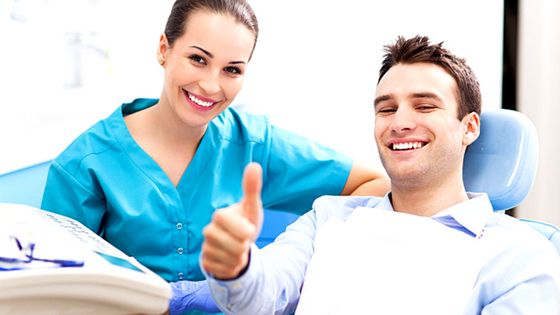 See a Dentist for Teeth Whitening Treatment