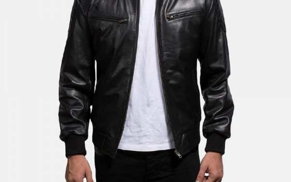 The Ultimate Guide to discover your Style with Men's Leather Bomber Jackets