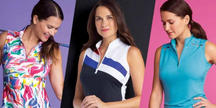 Ladies Sleeveless Golf Shirts