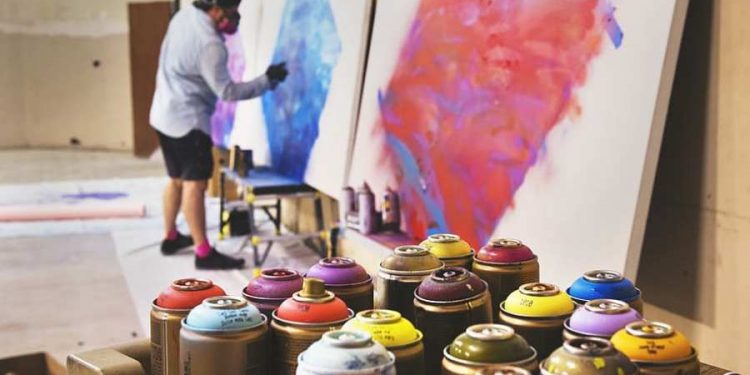 sprayers paint art