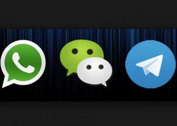 WHATSAPP vs WECHAT vs TELEGRAM