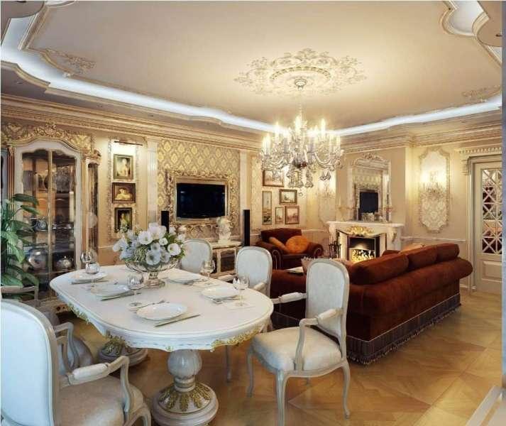 Create a Royal Dining Room