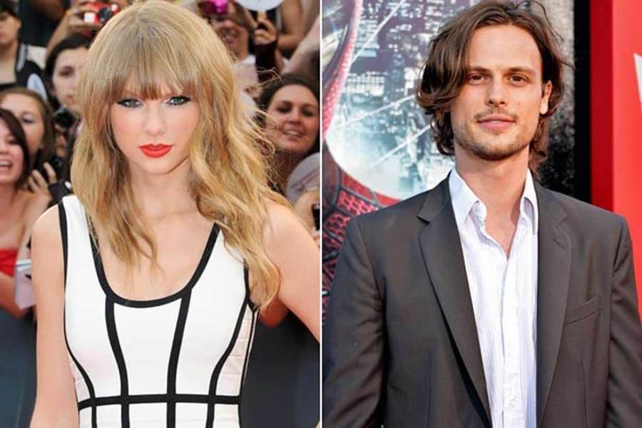 Matthew Gray Gubler dated Taylor Swift