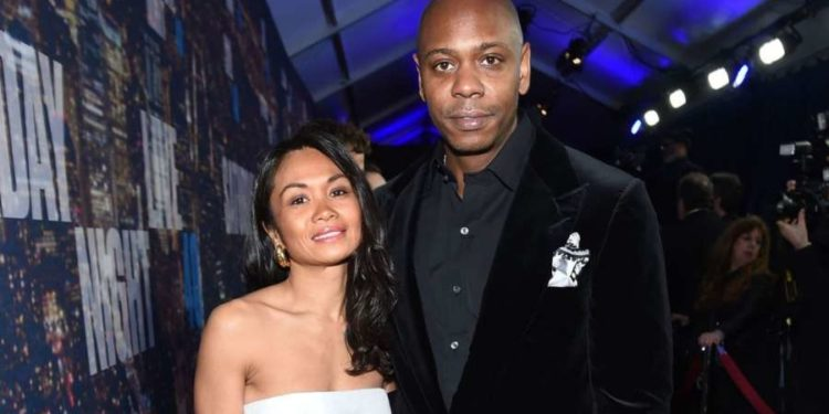 Elaine Chappelle and Dave Chappelle