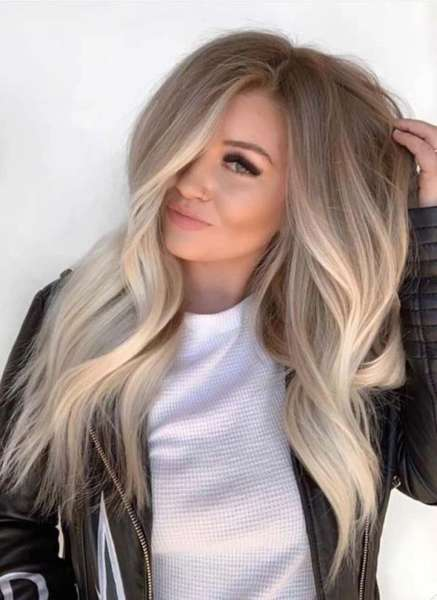 Root Shadowing hair trend