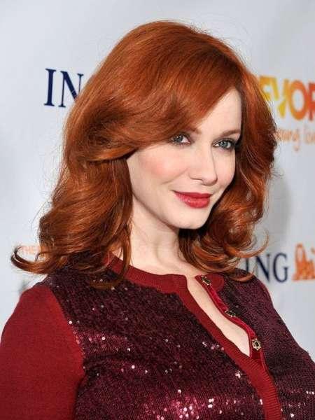Red Gloss hair